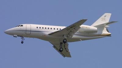 ZS-MGD - Dassault Falcon 2000EX - Private