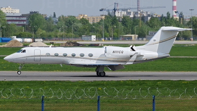 N111CQ - Gulfstream G450 - Private