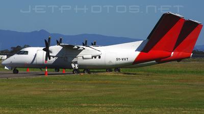 A picture of 5YVVT - De Havilland Canada Dash 8100 - Bluebird Aviation - © DaveWilson