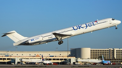 SX-BSW - McDonnell Douglas MD-83 - UK Jet (Sky Wings Airlines)