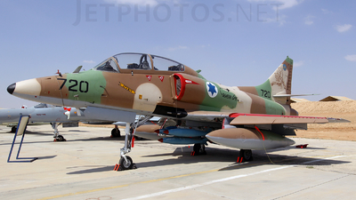 720 - McDonnell Douglas A-4N Improved Ayit - Israel - Air Force