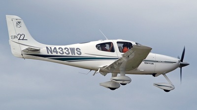 A picture of N433WS - Cirrus SR22 - [0254] - © Brian T Richards