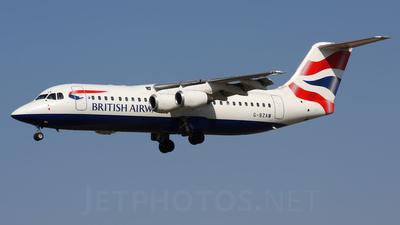 G-BZAW - British Aerospace Avro RJ100 - BA CityFlyer