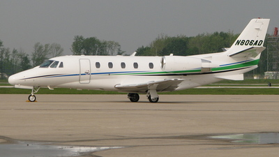 N806AD - Cessna 560XL Citation Excel - Private