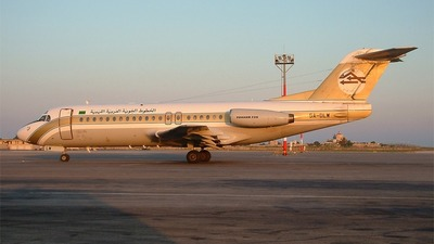 5A-DLW - Fokker F28-4000 Fellowship - Libyan Arab Airlines