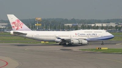 B-18271 - Boeing 747-409 - China Airlines