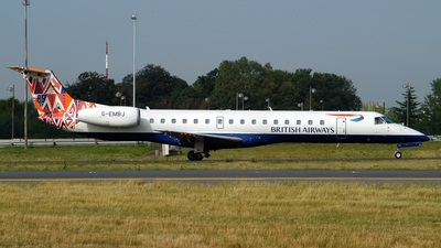 G-EMBJ - Embraer ERJ-145EU - British Airways (CityFlyer Express)