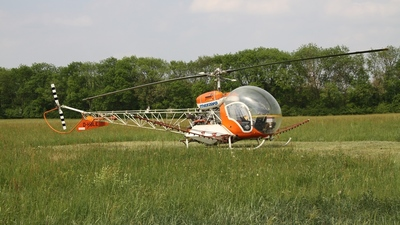 D-HBLE - Westland Sioux AH.1 - Meravo Helicopters