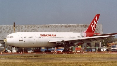 G-CEAB - Airbus A300B2-1C - European Aviation (EAL)