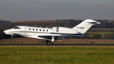 G-CDCX - Cessna 750 Citation X - Private
