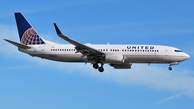 N33286 - Boeing 737-824 - United Airlines (Continental Airlines)