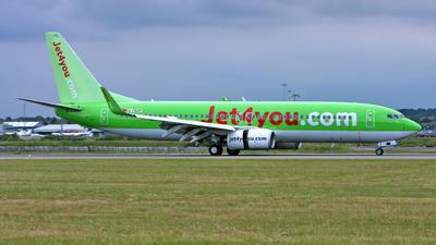 G-FDZP - Boeing 737-8K5 - Jet4You