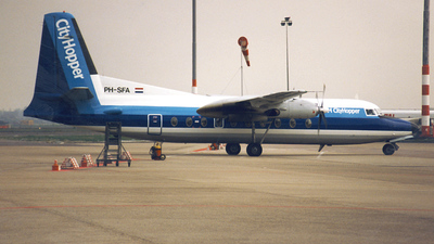 PH-SFA - Fokker F27-400 Friendship - NLM CityHopper