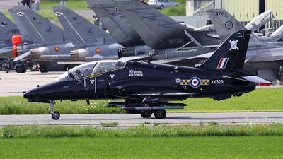 XX329 - British Aerospace Hawk T.1A - United Kingdom - Royal Air Force (RAF)