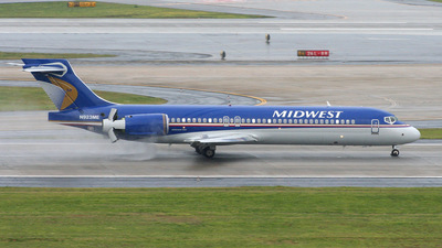 N923ME - Boeing 717-2BL - Midwest Airlines