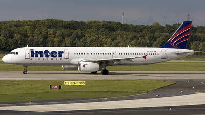 A picture of TCIEH - Airbus A321231 - Inter Airlines - © Kurt Greul