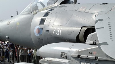 ZE690 - Hawker Siddeley Sea Harrier F/A.2 - United Kingdom - Royal Navy