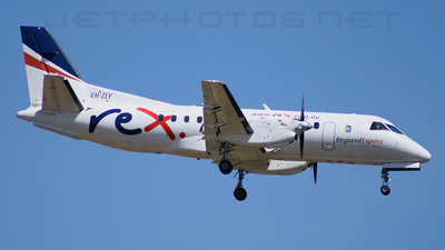 VH-ZLY - Saab 340A - Regional Express (REX)
