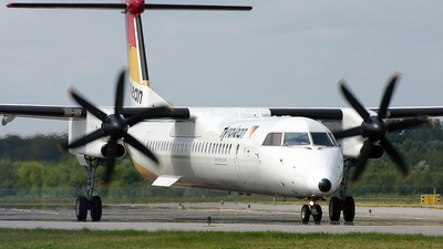 OE-LGF - Bombardier Dash 8-Q402 - Tyrolean Airways
