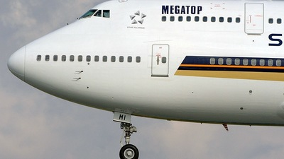9V-SMI - Boeing 747-412 - Singapore Airlines