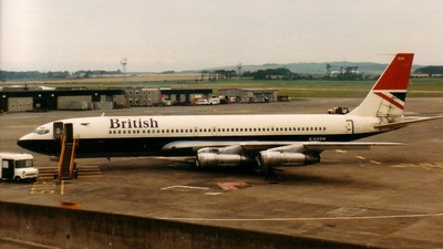 G-AXGW - Boeing 707-336C - British Airways