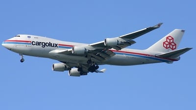 LX-LCV - Boeing 747-4R7F(SCD) - Cargolux Airlines International