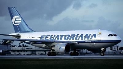 PP-SFH - Airbus A310-304 - Ecuatoriana de Aviación