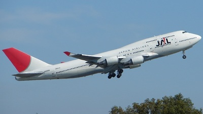 JA8088 - Boeing 747-446 - Japan Airlines (JAL)