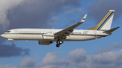 VP-BHN - Boeing 737-8AN(BBJ2) - Private