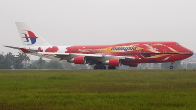 9M-MPD - Boeing 747-4H6 - Malaysia Airlines