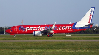 ZK-PBA - Boeing 737-8FE - Pacific Blue Airlines