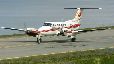 LN-MOI - Beechcraft B200 Super King Air - Lufttransport