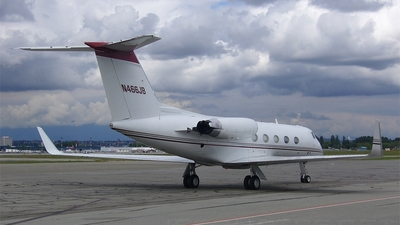 N466JB - Gulfstream G-II(SP) - Private