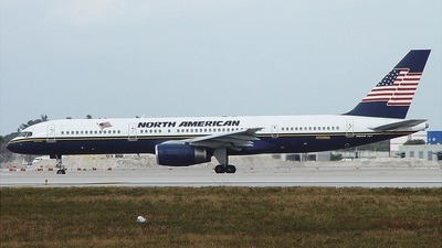 N750NA - Boeing 757-28A - North American Airlines