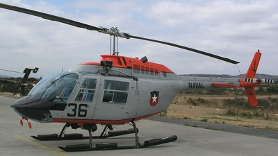 36 - Bell 206A JetRanger - Chile - Navy