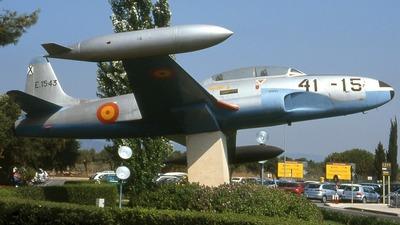 E.15-43 - Lockheed T-33A Shooting Star - Spain - Air Force