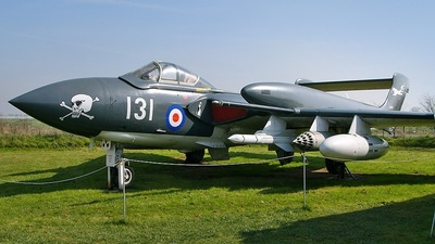 XJ580 - De Havilland DH-110 Sea Vixen - United Kingdom - Royal Navy