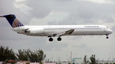 N14816 - McDonnell Douglas MD-82 - Continental Airlines