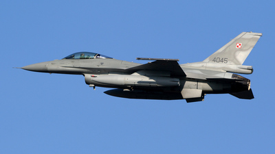 4045 - Lockheed Martin F-16C Fighting Falcon - Poland - Air Force