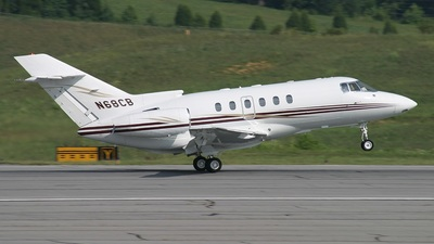 N68CB - Raytheon Hawker 800XP - Private