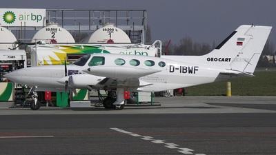 A picture of DIBWF - Cessna 402B - [402B0221] - © Edwin Vanoverschelde