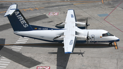 HK-4258 - Bombardier Dash 8-102 - AIRES Colombia
