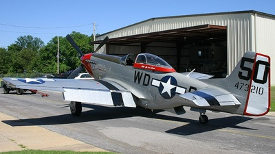 CF-IKE - North American P-51D Mustang - Private