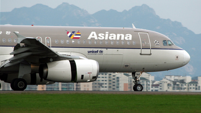 HL7744 - Airbus A320-232 - Asiana Airlines