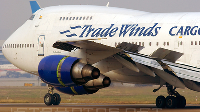 N508MC - Boeing 747-230B(SF) - TradeWinds Airlines