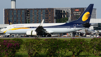 VT-JBK - Boeing 737-85R - Jet Airways