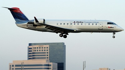 N493SW - Bombardier CRJ-100ER - Delta Connection (SkyWest Airlines)