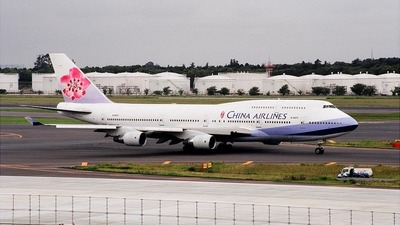 B-18275 - Boeing 747-409 - China Airlines