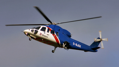 A picture of GBJGX - Sikorsky S76A - Bristow Helicopters - © KEVIN ROWETT