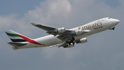 N498MC - Boeing 747-47UF(SCD) - Emirates SkyCargo (Air Atlas)
